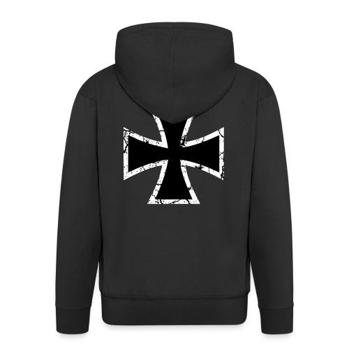 Iron Cross - Männer Premium Kapuzenjacke