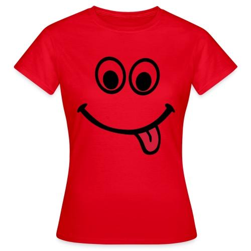 Smile - T-skjorte for kvinner