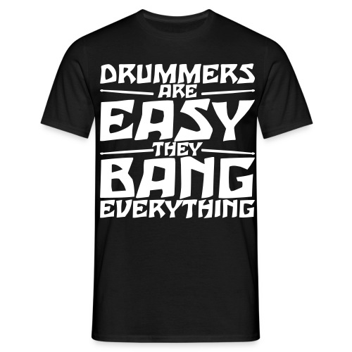 Drummers! - T-skjorte for menn