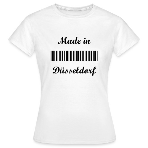 Made in Düsseldorf - Lady - Frauen T-Shirt