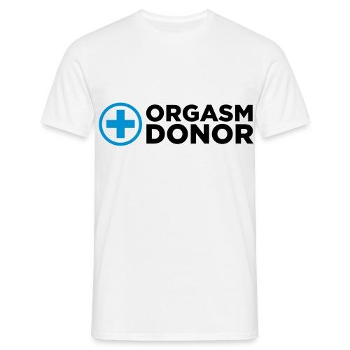 ORGASM - Men's T-Shirt