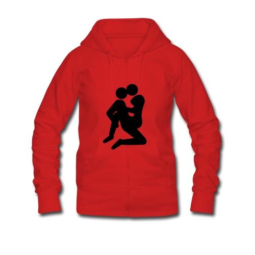 camiseta love - Chaqueta con capucha premium mujer