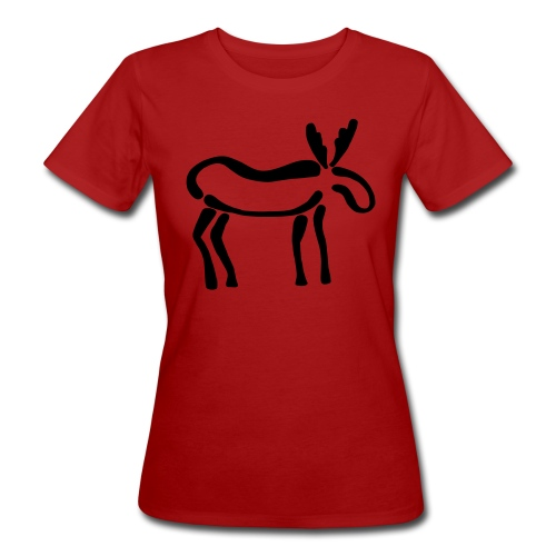 Elch-Shirt - Frauen Bio-T-Shirt