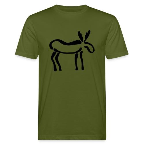 Elch-Shirt - Männer Bio-T-Shirt