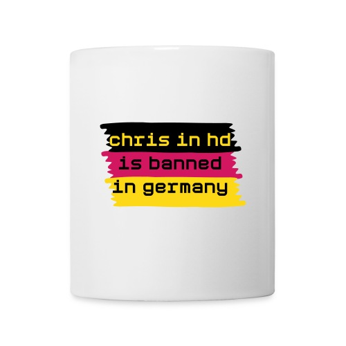 Chris in HD Banned in Germany Mug - Mug