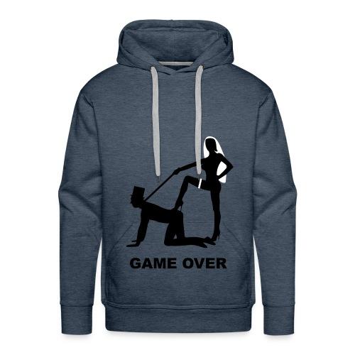 Felpa Uomo Game Over - Felpa con cappuccio premium da uomo