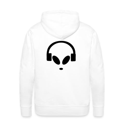 Alienbyte.de Hoodie White - Männer Premium Hoodie