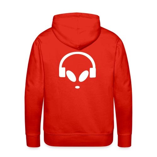 Alienbyte.de Hoodie Red - Männer Premium Hoodie
