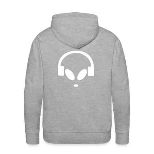 Alienbyte.de Hoodie Grey - Männer Premium Hoodie