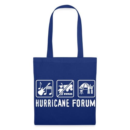 Hurricane-Forum Handtasche - Stoffbeutel