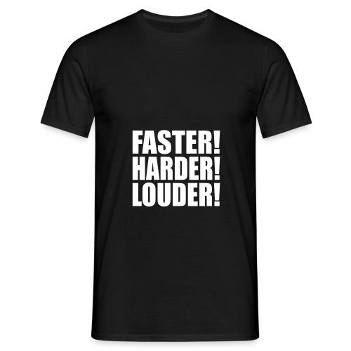 louder - Männer T-Shirt