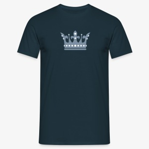 Krone Crown in SILBER - THE KING T-Shirt alle Farben - Männer T-Shirt