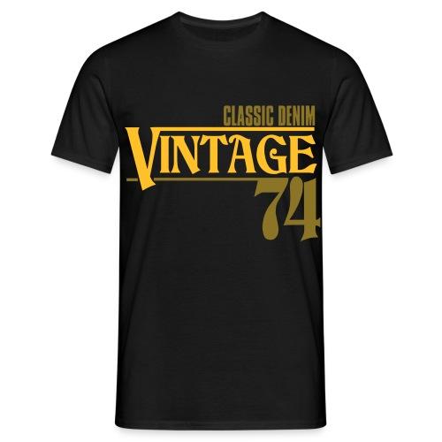 B&S vintage74 - T-shirt Homme