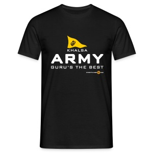 Men's KHALSA ARMY (dark colours) - Men's T-Shirt