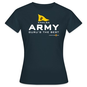 Women's KHALSA ARMY (dark colours) - Women's T-Shirt