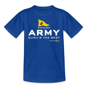 Kids' KHALSA ARMY (dark colours) - Teenage T-shirt