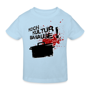 kinder-shirt kochkulturbanause - Kinder Bio-T-Shirt