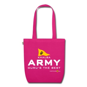KHALSA ARMY organic tote bag - EarthPositive Tote Bag