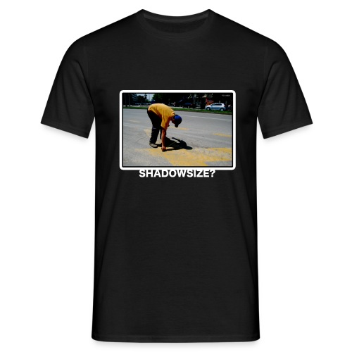 Men's T-Shirt - What is the size of your shadow ?