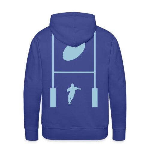 sweatshirt rugby design - Sweat-shirt à capuche Premium pour hommes