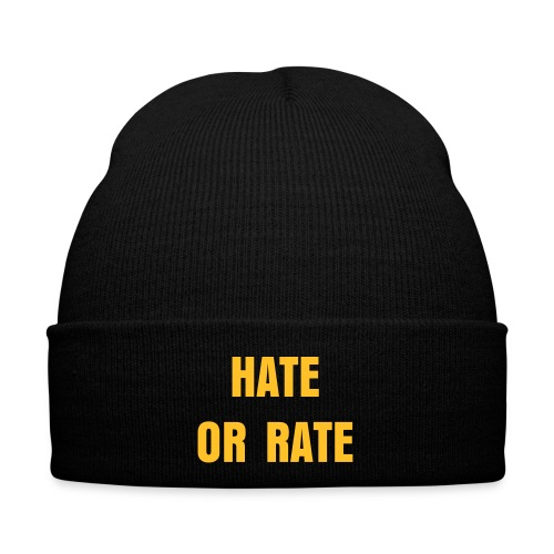 BizBaz - hate or rate hat  - Winter Hat