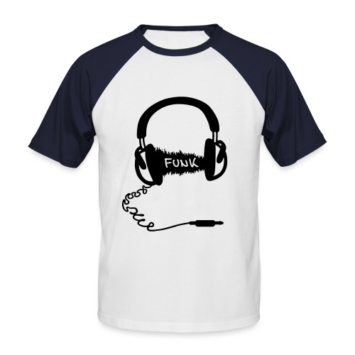Funk Headphones - T-shirt baseball manches courtes Homme