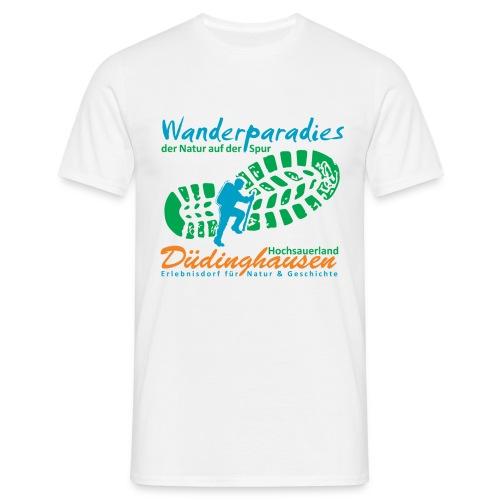 Wanderparadies Düdinghausen - Männer T-Shirt