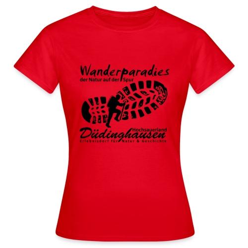Wanderparadies Düdinghausen - Frauen T-Shirt