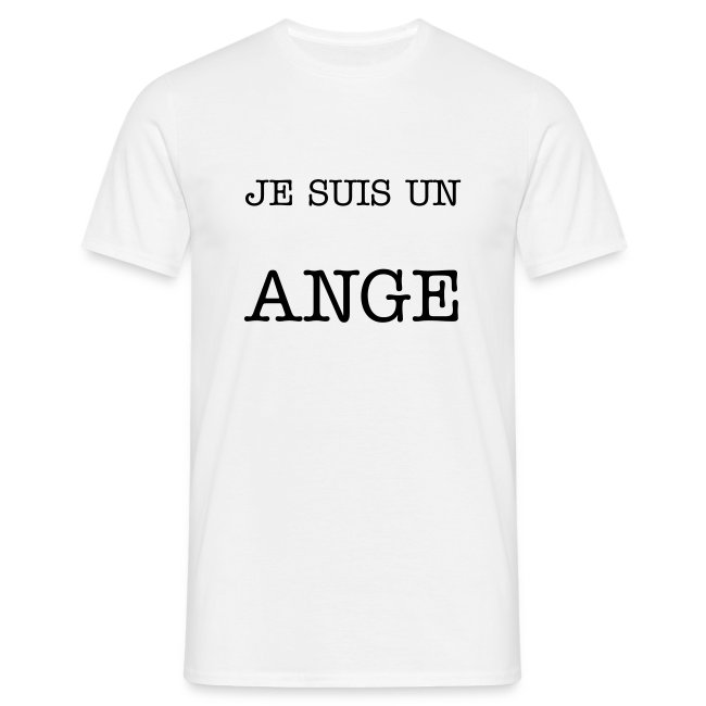 T-shirt homme ange