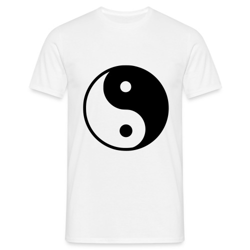 YinYang - T-shirt herr