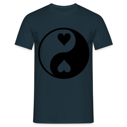 YinYangt Love - T-shirt herr