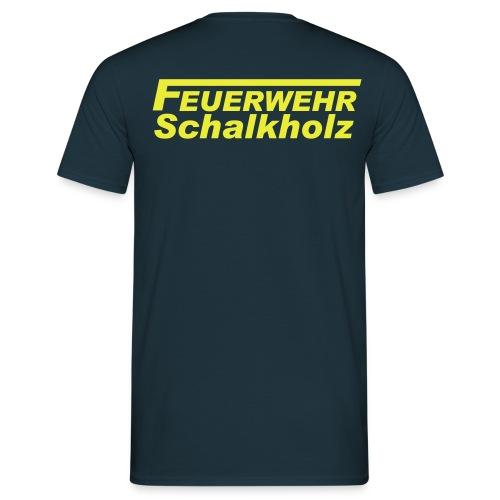 Classic T-Shirt Comfort mit Logo NEON - Männer T-Shirt