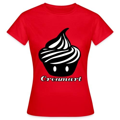 T-shirt Creamart Classics Original Femme - T-shirt Femme
