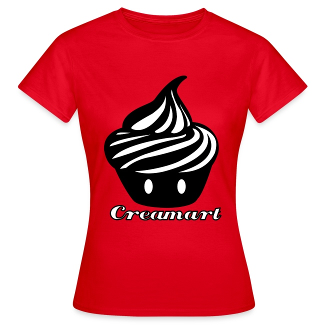 T-shirt Creamart Classics Original Femme
