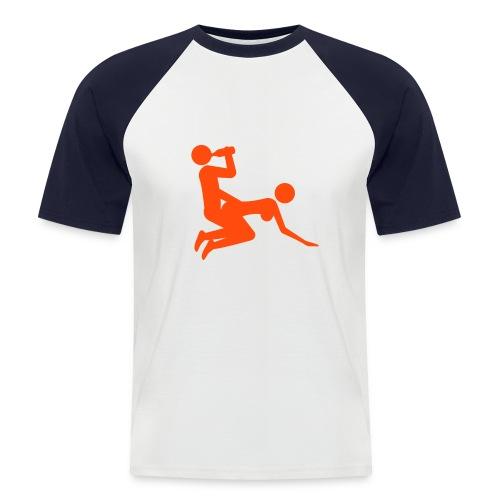 dog - Men's Baseball T-Shirt