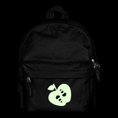 kinder, rucksack, apfel mit herz, leuchtend - Kinder Rucksack