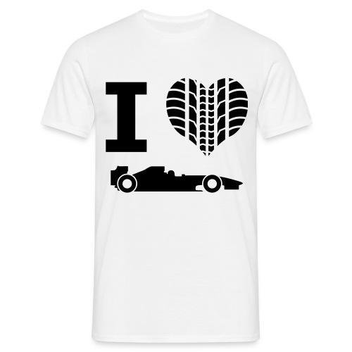 I love Formule 1 Tee Shirt (Homme) - T-shirt Homme