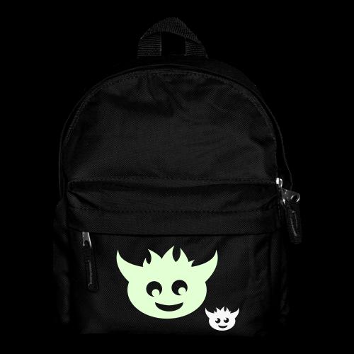 kinder, rucksack, monsterchen, leuchtend-reflektierend - Kinder Rucksack