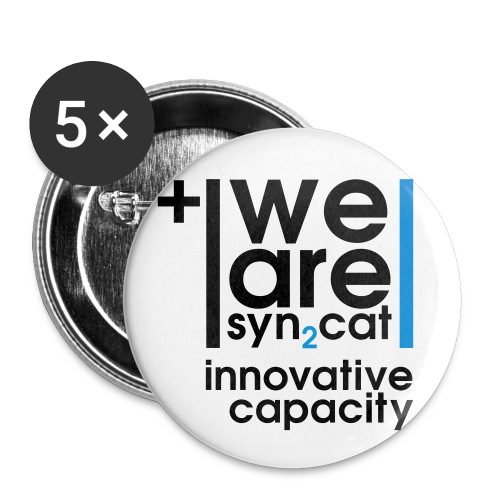 we are syn2cat (M) - Buttons medium 32 mm
