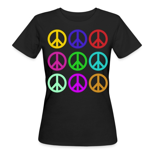 Peace Colours Women's T-shirt - Women's Organic T-Shirt