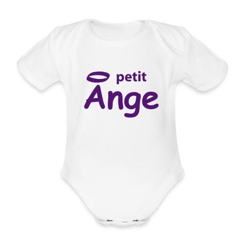 Petit Ange - Body bébé bio manches courtes