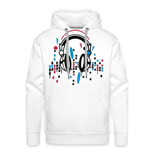 YB music - Sweat-shirt à capuche Premium pour hommes