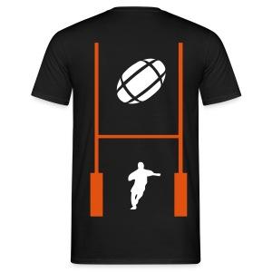 t-shirt biker rugbyman - T-shirt Homme