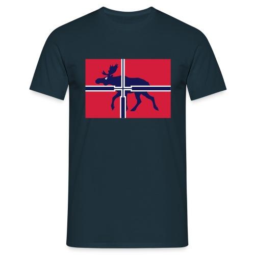 elgflagg GRUNNEIER - Men's T-Shirt