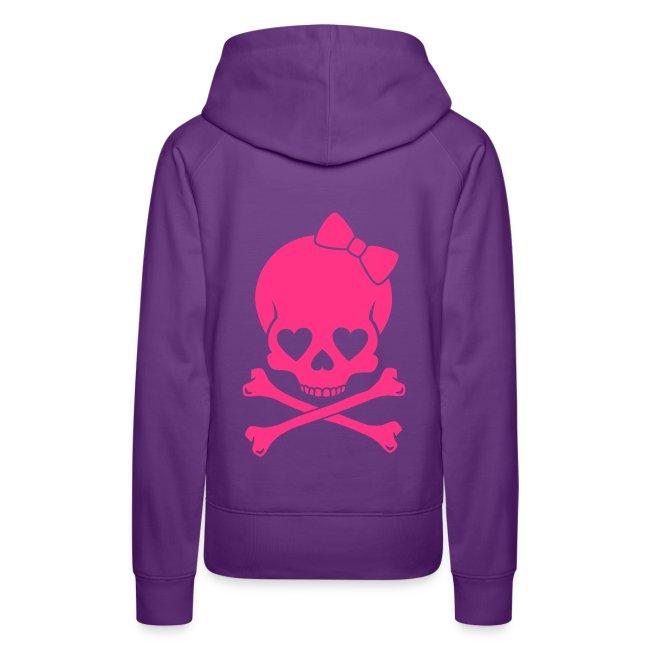 Pug Luv xSexy Pink Skull