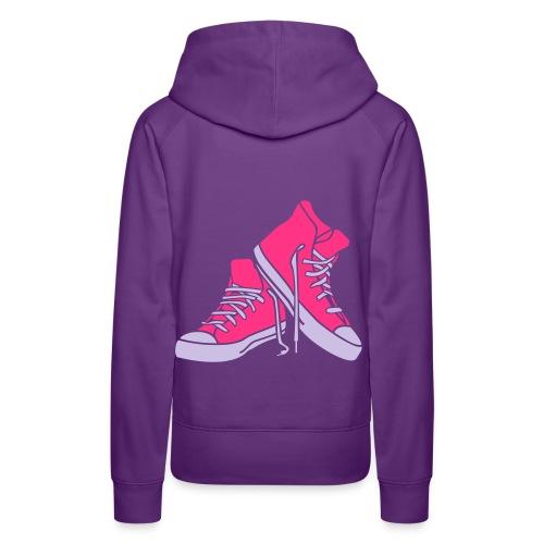 Pug Luv x Sneakers - Women's Premium Hoodie