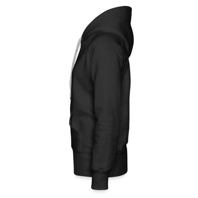 Pug luv x the heart of the zebra Black hoodie