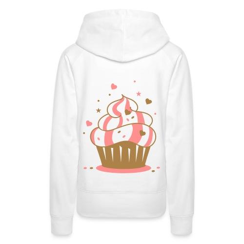 Pug Luv x Cup Cake - Women's Premium Hoodie