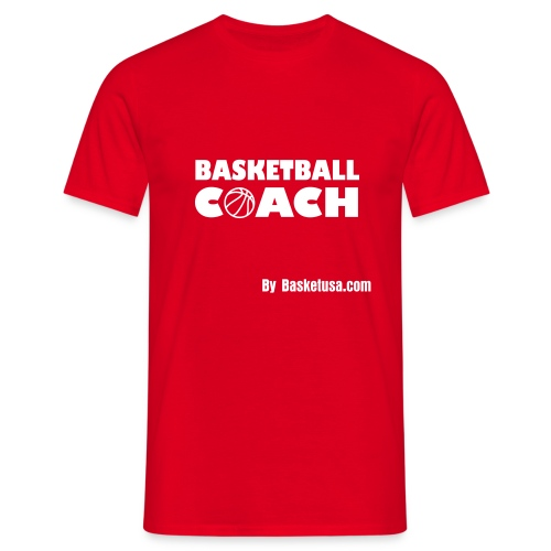 T-Shirt Man BasketBall Coach - T-shirt Homme