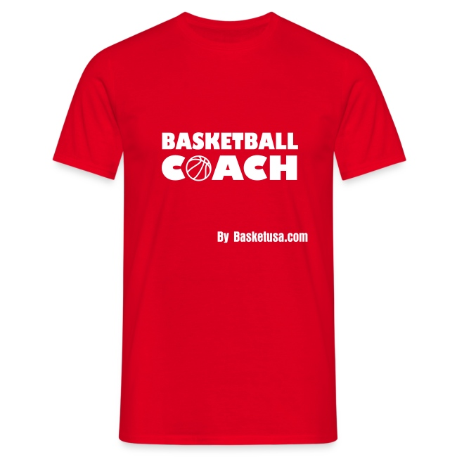 T-Shirt Man BasketBall Coach